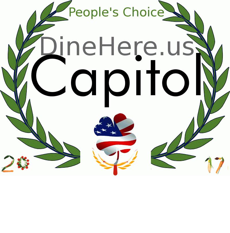 Capitol DineHere.us 2017 Award Winner